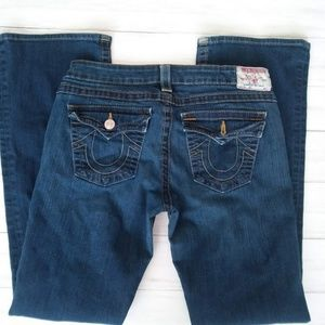 True Religion |  Flared Flap Pocket Jeans